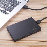 """Внешний бокс 2.5"""" USB 2.0, черный [8924]"""