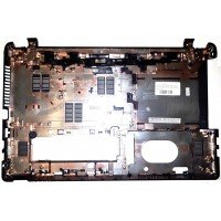 Поддон (нижний корпус, D cover case) для ноутбука Acer Aspire E1-510, E1-532, E1-570 (AP0VR000160, FA0VR000F00), черный [4157]
