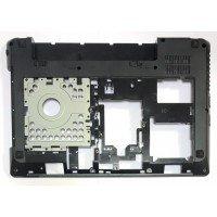 Поддон (нижний корпус, D cover case) для ноутбуков Lenovo G480 G485, черный с HDMI (APON1000K00) [DCK03]
