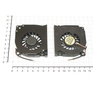 Вентилятор (кулер) для ноутбука Acer TravelMate 4520; Dell Inspiron 1525, 1526 [F0077-1]