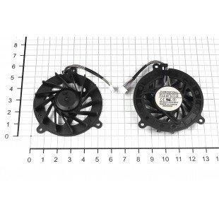 Вентилятор (кулер) для ноутбука  ASUS F3J A8 (4 Pin, короткий провод)  [F0069]