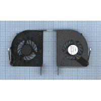 Вентилятор (кулер) для ноутбука HP DV6-2000 DV6-2100, 1 ушко (Intel, дискретная видеокарта) [F0021]