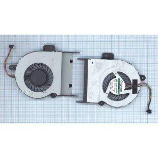 Вентилятор (кулер) для ноутбука  ASUS K55 K55A, толщина 10мм