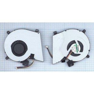 Вентилятор (кулер) для ноутбука Asus F551, F551M, R512, R512C, X451, X451C, X511, X511C, X551, X551C, 4pin