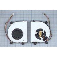 Вентилятор (кулер) для ноутбука DNS C5500Q, 0118742, 0123975; MSI 16D3, X600 [F0158]