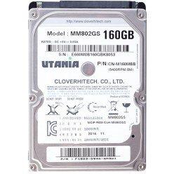"""Жесткий диск 2,5"""" 160GB UTANIA MM802GS SATA 5400rpm 8Mb, Новый"""
