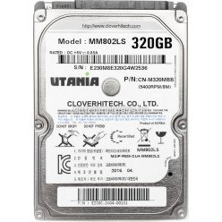 "Жесткий диск 2,5"" 320GB UTANIA MM802LS SATA 5400rpm 8Mb, Новый"