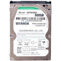 """Жесткий диск 2,5"""" slim 500GB UTANIA MY502NS SATA 5400rpm 8Mb, Новый"""