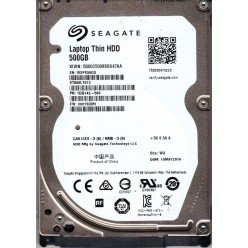 "!Жесткий диск 2,5"" slim 500GB Seagate Laptop Thin ST500LT012 SATA-II 5400rpm 16Mb [1277]"