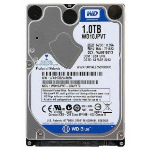 "*Б/У* Жесткий диск 2,5"" 1Tb SATA-II 5400rpm, в ассортименте, с разбора"