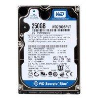 "*Б/У* Жесткий диск 2,5"" 250Gb Toshiba MK2555GSX SATA-II 5400rpm, с разбора [HDD250-X]"