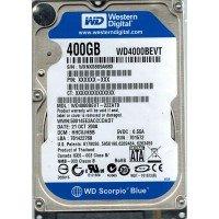 "*Б/У* Жесткий диск 2,5"" 400Gb WD WD4000BEVT SATA-II 5400rpm, с разбора [HDD400-X]"