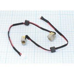 Разъем питания для ноутбука Acer Aspire E1-521 E5-521 E5-571 V3-571 с кабелем [20614]