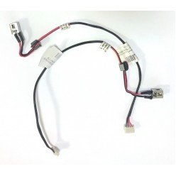 Разъем питания для ноутбука Lenovo Ideapad G470, G470AP, G475, G570, G575, Y470, Y471 с кабелем [20517]