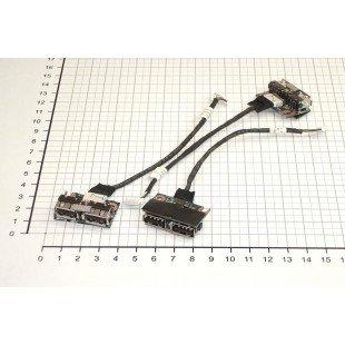 Разъем для ноутбука HP Pavilion DV4 USB с кабелем