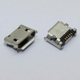 Разъем microUSB для Lenovo A60 A288T A366T A390E A500 A520 A750