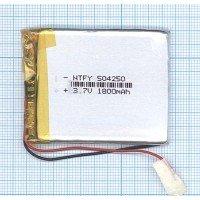 Аккумулятор Li-Pol (батарея) 5*42*50мм 2pin 3.7V 1800mAh