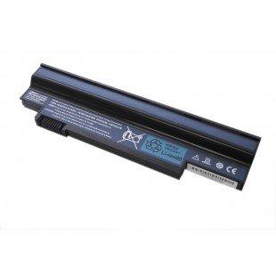 Аккумуляторная батарея для ноутбука Acer Aspire one 532h 533h eMachines350 6600mah черная