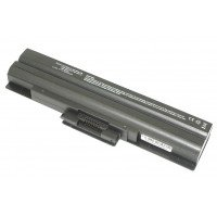 Аккумуляторная батарея VGP-BPS13 для ноутбука Sony Vaio VGN-AW, CS, FW черная (10.8-11.1 В 4400 мАч) OEM [B1252]