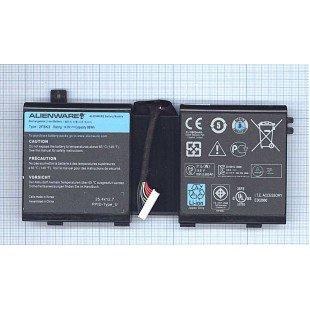 Аккумуляторная батарея 2F8K3 для ноутбука Dell Alienware M17x R5, 14.8V 86Wh, ORIGINAL