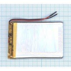 Аккумулятор Li-Pol (батарея) 4x45x60мм 2pin 3.7V 1000mAh [6017]