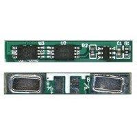 Контроллер заряда-разряда (PCM) для Li-Pol, Li-Ion батареи 3,7В 28x4mm 2pin 265-sxt-2845 JWT [5496]