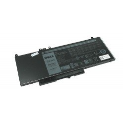Аккумуляторная батарея 6MT4T для ноутбука Dell Latitude E5450, E5470, E5550, E5570 7.6V 62Wh 8260mAh черная ORIGINAL