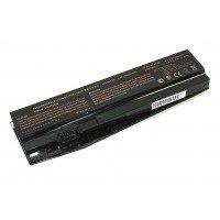 Аккумуляторная батарея для ноутбука Clevo N850HC 10.8V 4400mAh N850-3S2P OEM черная