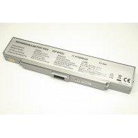Аккумуляторная батарея для ноутбука Sony Vaio VGN-FE VGN-FS (VGP-BPS2) 11.1V 5200mAh OEM серебристая