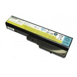 Аккумуляторная батарея для ноутбука Lenovo IdeaPad Y430 (L08O6D01) 11.1V 57Wh черная Original