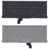 """Клавиатура для ноутбука MacBook Pro 13"""" Retina A1502 2013+ черная плоский Enter"""