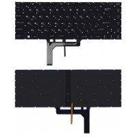 Клавиатура для ноутбука MSI GS65 GS65VR черная с подсветкой