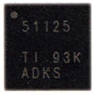 ШИМ-контроллер TPS51125 Texas Instruments QFN-24