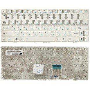 Клавиатура для ноутбука Asus EeePC 1000 (RU) белая, матовая [00074]