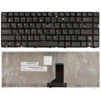 Клавиатура для ноутбука Asus UL30, U30, U31, K42, K43, N43, N82, X42, X43, X44, A84  (RU) черная [10036]