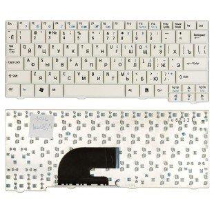 Клавиатура для ноутбука Acer Aspire ONE A110, A150, D150, D250, P531H (RU) белая [00067]