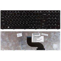 Клавиатура для ноутбука Acer Aspire 5750G, 5742G, 5810, 5236, 5242, 5251, 5336, 5340, 5410, 5536, 5542, 5551, 5560, 5736, 5738, 5820, 7336, 7340, 7540, 7551, 7735, 7741, 8935, Aspire TimeLine 5410T (RU) черная [00069-1]
