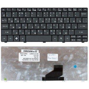 Клавиатура для ноутбука Acer Aspire One D255, D260, D270, AO532, PAV70, NAV70, AO521, AO533, AOS255, AOD260, ZH9, ZE6, D257 (RU) черная
