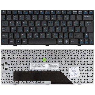 Клавиатура для ноутбука MSI Wind U90 U100 U110 U120 черная