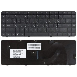 Клавиатура для ноутбука HP Presario CQ56, CQ62, HP Pavilion G56, G62 (RU) черная [00378]