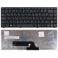 Клавиатура для ноутбука Asus K40, K40AB, K40IN, X8 (RU) черная [00260]