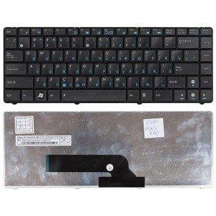 Клавиатура для ноутбука Asus K40, K40AB, K40AC, K40AD, K40IN, X8 (RU) черная