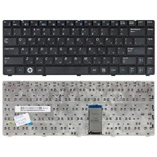 Клавиатура для ноутбука Samsung R420, R423, R425, R428, R429, R439, R440, R467, R468, R470, R480 (RU) черная [10042]