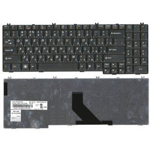 Клавиатура для ноутбука Lenovo IdeaPad G550, G555, B550, B560, V560 (RU) черная [10020]