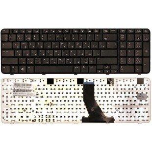 Клавиатура для ноутбука HP Compaq Presario CQ70, Pavilion G70 (RU) черная [00334]