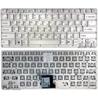 Клавиатура для ноутбука Sony Vaio VPC-CA VPCCA VPCSA VPC-SA серебристая