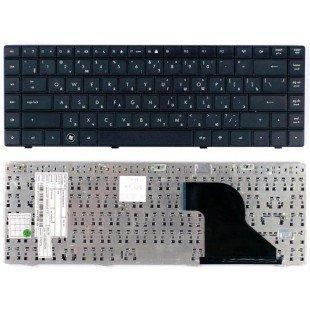 Клавиатура для ноутбука HP Compaq 620, 621, 625 (RU) черная [10137]