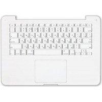 """Клавиатура для ноутбука Apple A1342 топ-панель белая 13,3"""""""