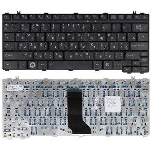 Клавиатура для ноутбука Toshiba Satellite U500, U505, T130, T130D, T135, A600, U405, U400, M900, M800 (RU) черная [10026]