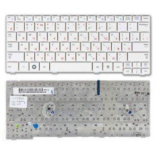 *SALE* Клавиатура для ноутбука Samsung NF110 (RU) белая [10033]